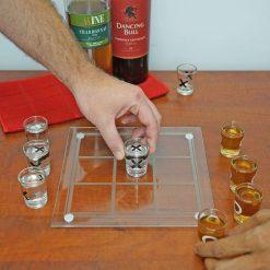 Shot Glass Tic Tac Toe